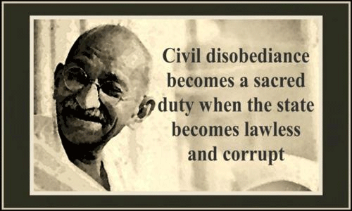 civil disobedience a stand on moral Civil disobedience civil war government and unwillingness to stand for to our shared higher moral code through the civil disobedience that drew.