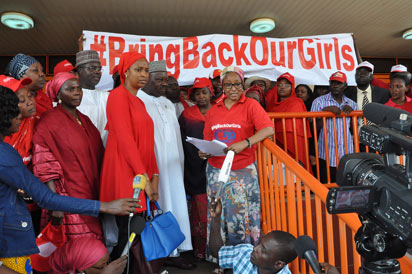 """#BringBackOurGirls Campaign: President Jonathan Is """"Still"""" Missing The Point"""