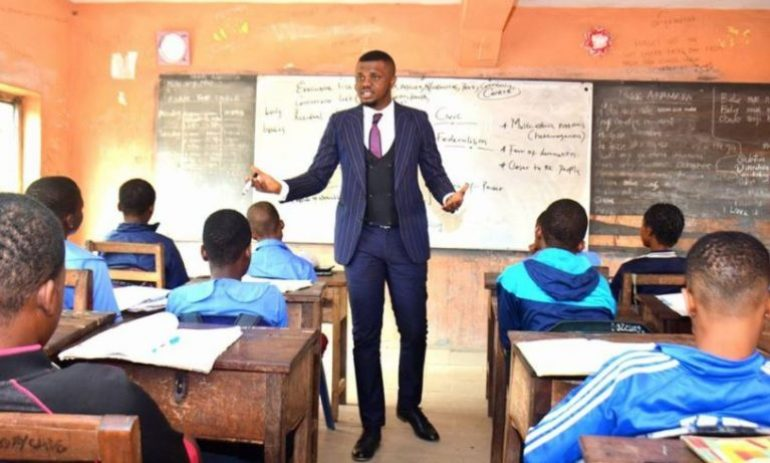 Image result for teaching in nigeria